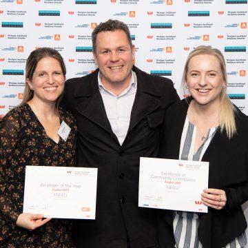 ENGEO New Zealand geotechnical engineers winning an award